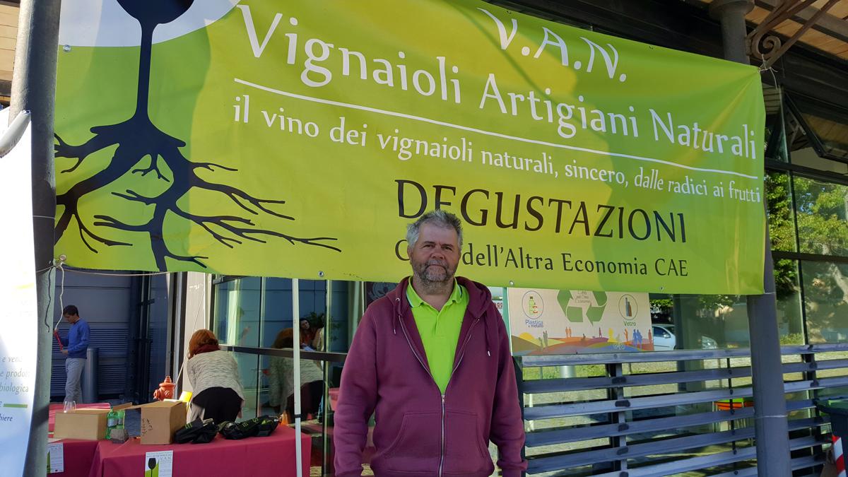 Emilio Falcioni, Portavoce VAN