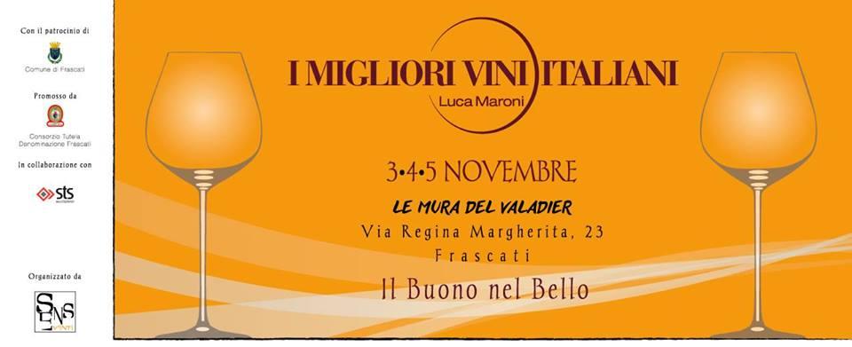 Frascati (Rm), dal 3 al 5 novembre – I Migliori Vini Italiani, Frascati