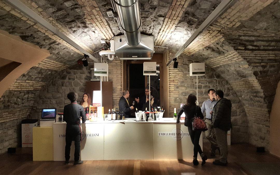 A Frascati Luca Maroni e i migliori vini del Lazio