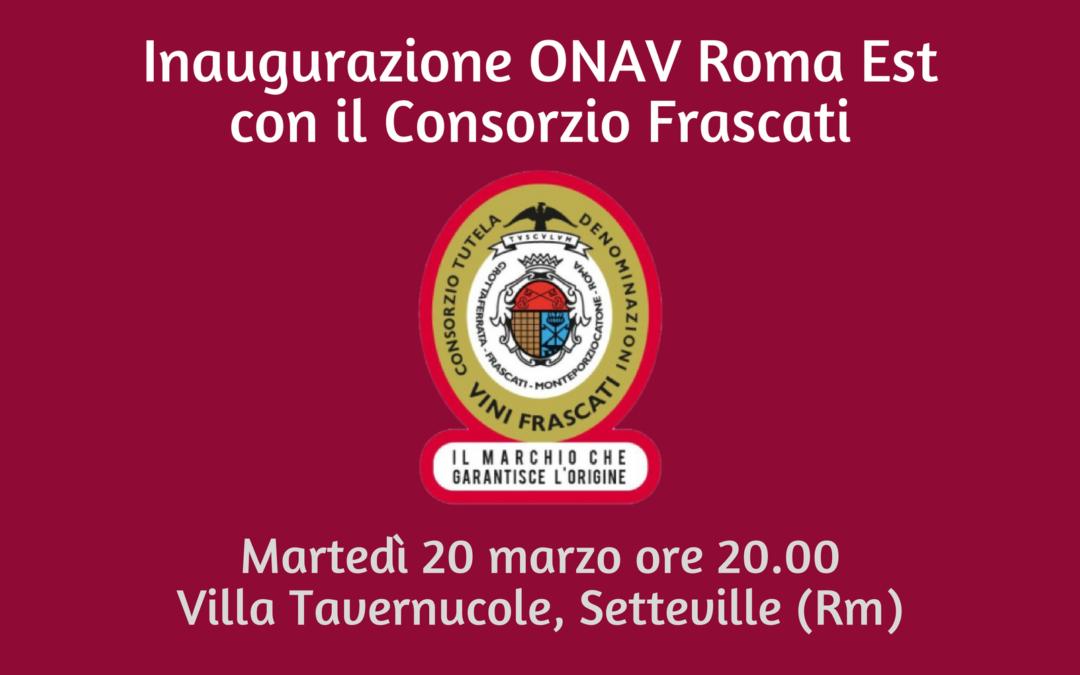 Roma, 20 marzo – Inaugurazione sede ONAV Roma Est