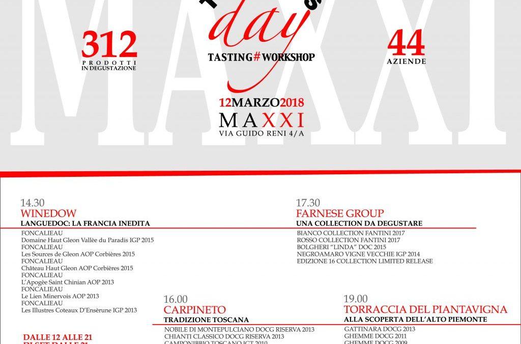 Roma, 12 marzo – Team's Day