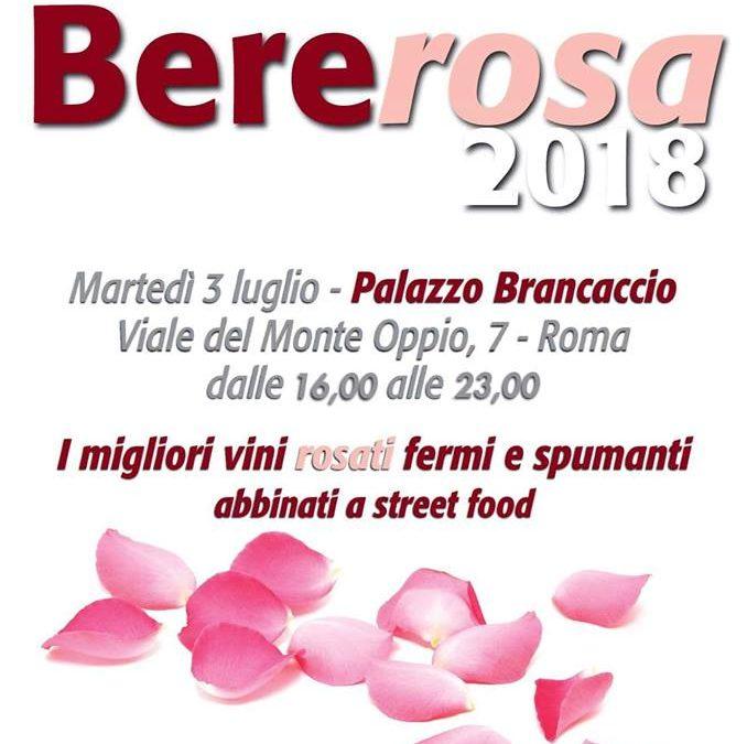 Roma, 3 luglio – Bererosa 2018