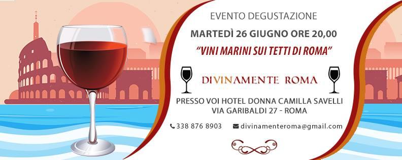 Roma, 26 giugno – Vini Marini sui tetti di Roma