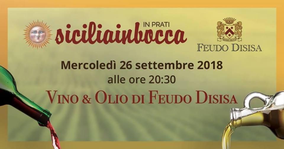 Roma, 26 settembre – Vino & Olio di Feudo Disisa