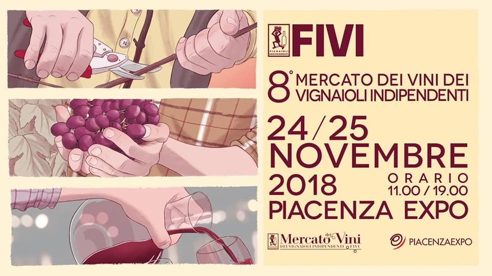 961c0639e6 Piacenza, 24 e 25 novembre – Mercato dei Vini FIVI