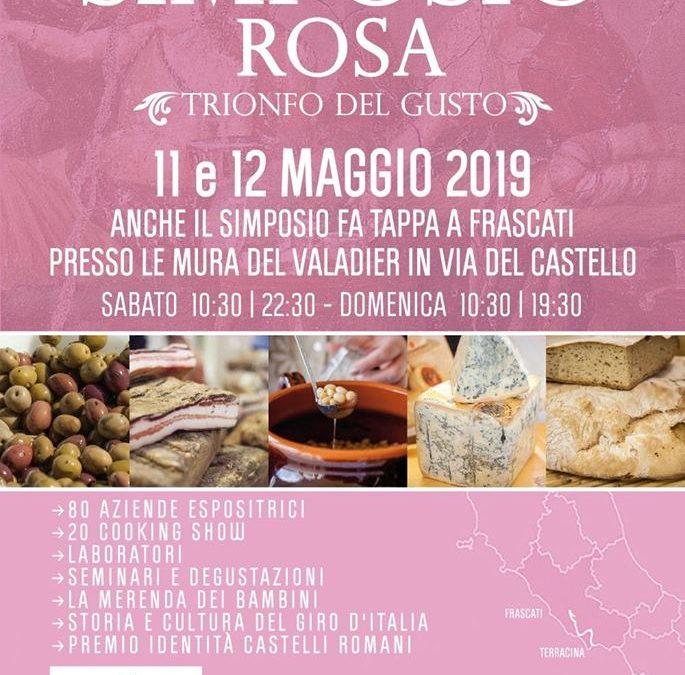 Frascati 11 e 12 maggio – Simposio Rosa a Frascati