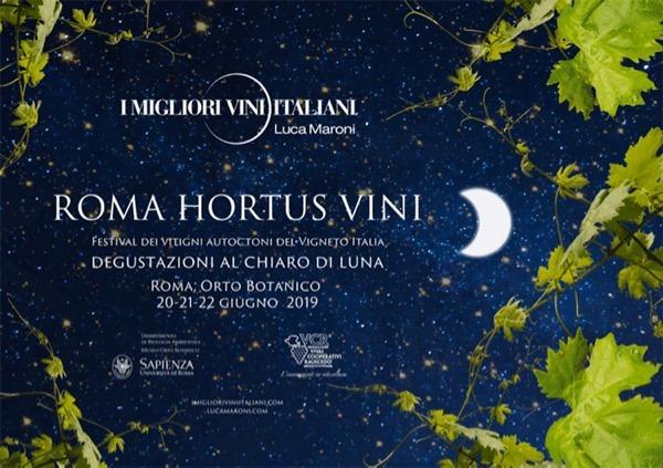 Roma, dal 20 al 22 giugno – Roma Hortus Vini