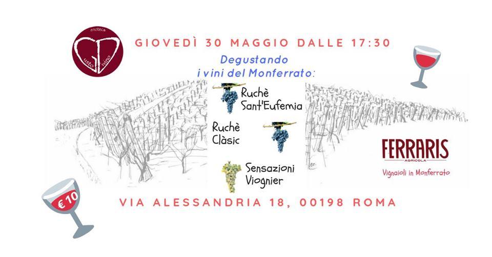 Roma, 30 maggio – I vini del Monferrato