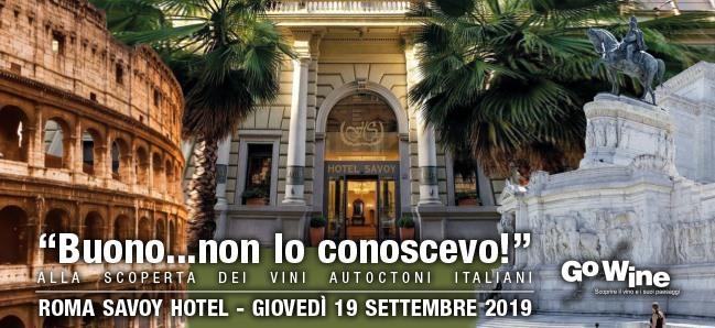 Roma, 19 settembre – Buono non lo conoscevo!