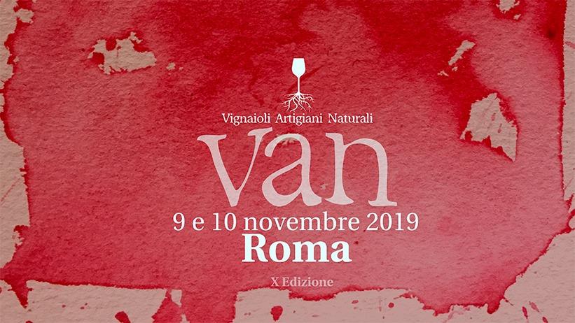 Roma, 9 e 10 novembre – VAN Vignaioli Artigiani Naturali
