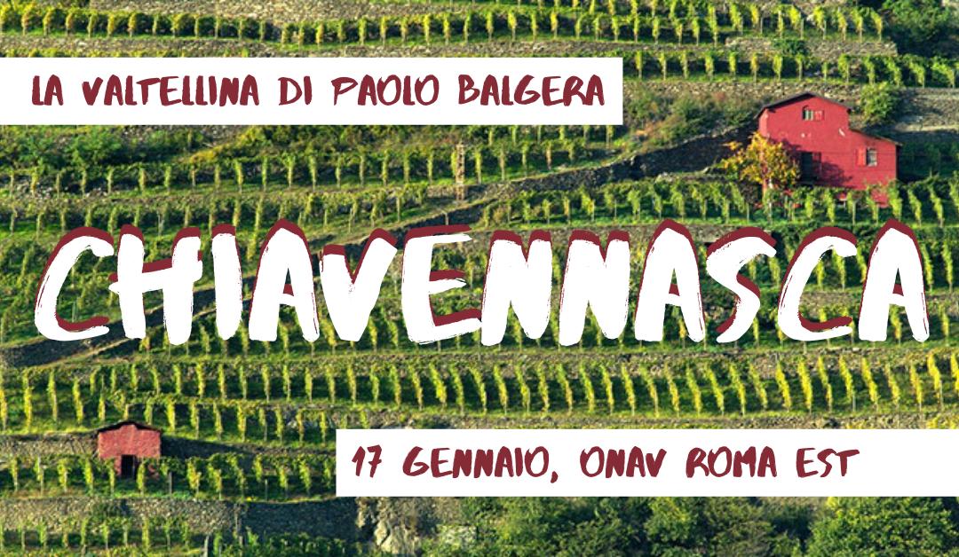 Roma, 17 gennaio – La Valtellina di Balgera