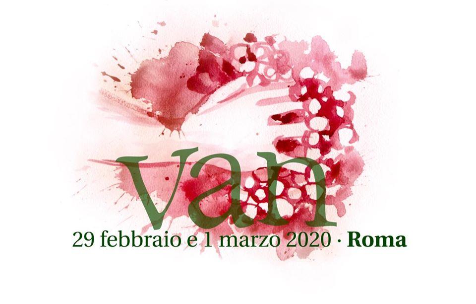 Roma, dal 29 febbraio al 1 marzo – VAN Vignaioli Artigiani Naturali