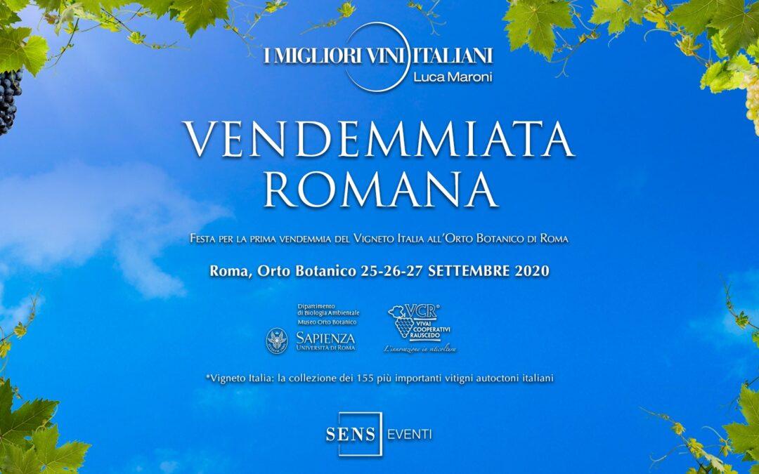 Roma, dal 25 al 27 settembre – Vendemmiata Romana